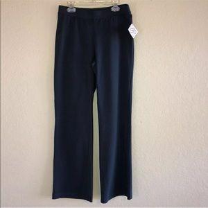 NEW NWT LL Bean Navy Blue Comfortable Pants XS